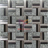 Slate Mix Stainless Steel Morden Style Mosaic Tiles (CFM1083)