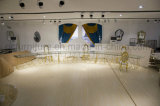 Big Size Half Moon Wedding Table with Stainless Steel Frame