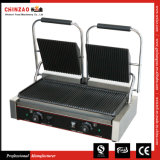Chinzao Professional Manufactrer Commercial Double Head Panini Grill Toaster