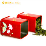 Unique Design Classic Black Noble Tin Box Makeup Brush Tin