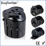 World Use Universal Safety Travel Plug Power Adaptor (XH-UC-019)