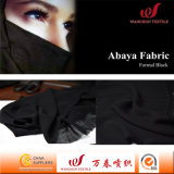 Formal Black Hi-Multi Chiffon Fabric for Abaya Garment