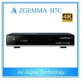 New 4k Uhd Receiver Zgemma H7c with DVB-S2/S2X + 2*DVB-T2/C Hybrid Tuners