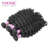 Best Selling Deep Wave Peruvian Virgin Human Hair Weft