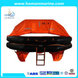 Fishing Boat Throw-Overboard Self Righting Inflatable Life Raft