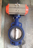 Butterfly Valve with Single Acting Pneuamtic Actuator