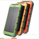 Shenzhen 2016 New Products Solar Powerbank 10000mAh with Waterproof Function