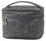 Weave Nylon Cosmetic Pouch Make-up Handle Case with Sedex 4p