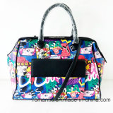 Popular Brand Designer Women PU Printing Luggage (NMDK-061606)