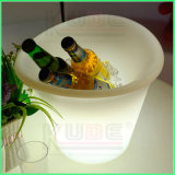 LED Champagne Beer Bucket Plastic Ice Bucket for Party Use