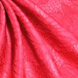 Beautifal Peony Feel a Strong 100%Polyester Jacquard Fabric
