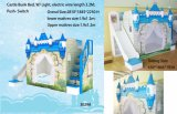 Blue Color Fairly Bunk Bed Castle Bed for Boy