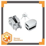 Lock with 2 Way Key, Frameless Glass Door Lock