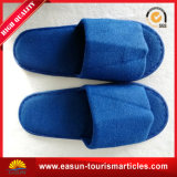 Blue Beauty Open-Toe Slippers for Hotel