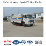 4cbm Dongfeng Compacted Garbage Collection Road Sweeper Truck
