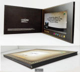LCD Screen Video Brochure for Communications