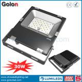 110lm/W Outdoor Flood Lighting 30W LED IP65 Light Fixture