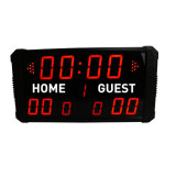 LED Scoreboard for Basketball IR Remote Control Indoor Use Only