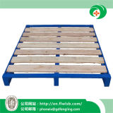 Stackable Steel-Wood Pallet for Warehouse Storage by Forkfit with Ce