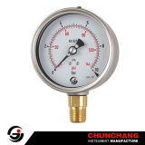 All Stainless Steel Liquid Pressure Gauge