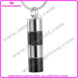 Stainless Steel Polished Cylinder Cremation Jewelry Pendants for Loved One