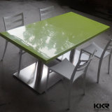 Dining Furniture Stone Green Restaurant Rectangular Table
