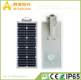 Custom-Made 15W Integrated Solar Street Light That Accepts OEM Small Orders