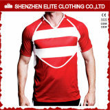 Whiolesale Custom Fashionable Striped Rugby Jersey for Mens (ELTRJI-26)