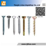 Phillips Countersunk Flat Head Zinc Plated Self Drilling Screw