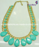 Indian Style Gold Plated Diamond Necklace (XJW2118)