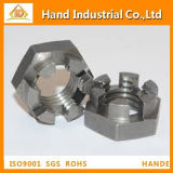 DIN937 Stainless Steel Hex Thin Slot Nut