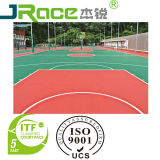 Anti Abrasion Silicon PU Basketball Court Coating Sport Surface