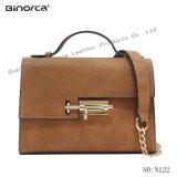 2017 Popular Wholesale Ladies Handbag Shoulder Bag with Lock