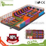 2017 Big Trampoline for Children Cheap Sky Zone Kids Indoor Trampoline Park