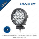 Auto Parts Offroad Auto LED Work Light 90W 7 Inch Driving Light Spot/Flood 12V for SUV Offroad