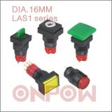 Push Button Switch (ONPOW LAS1 Single, 16mm)