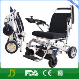 2017 New Product Adjustable Backrest Ultralight Magnesium Fold Electric Power Wheelchair