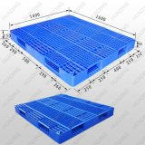 Heavy Duty Double-Faced Open Deck Plastic Pallet From China