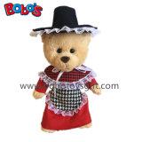 Plush Welsh Teddy Bear Doll as Kids Toy