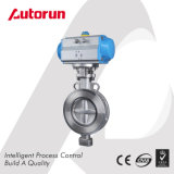 Wafer Type Triple Offset Pneumatic Butterfly Valve
