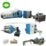 Automatic V Folding Facial Tissue Paper Production Machine Complete Line