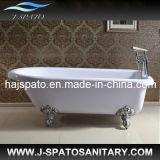 Acrylic Clawfoot SPA Bath Tube, One Person SPA Tub (JS-G014)