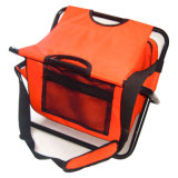 Fishing Cooler Backpack with Folding Chair for Picnic