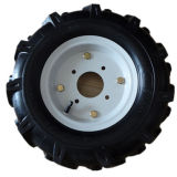 (4.00-8) Pneumatic Rubber Wheel with Steel Rim for Wheelbarrow