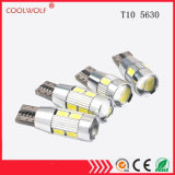 The Factory Direct Selling 5630 Decoding T10 LED Lamp 10SMD Display Width of 5630-10 Light Decoding Alarm