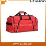 Big Red Affordable His and Hers Set of Travel Bags