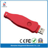 Red Metal Bottle Shaped USB Flash Drive