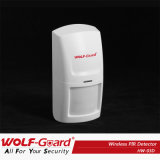 Wolf-Guard Wireless Home Alarm System PIR Motion Detector with CE Certificate