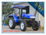 High Clearance 4WD 55HP Agricultural Tractor (LZ554)