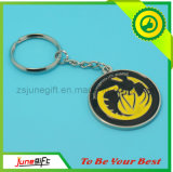 Custom Metal Key Chain/Coin Key Ring/ Enamel Gold Keychain (JN0007)